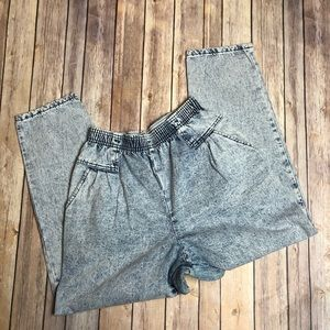 Vintage Jeans - Vintage Acid Wash Stretch Jeans Carriage Court 14
